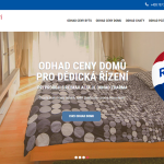 Webová stránka o odhadech pro dědická řízení